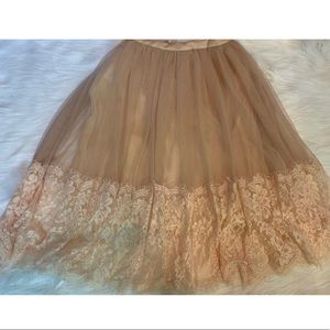 Francesca's Collection Lillianna Tulle Skirt